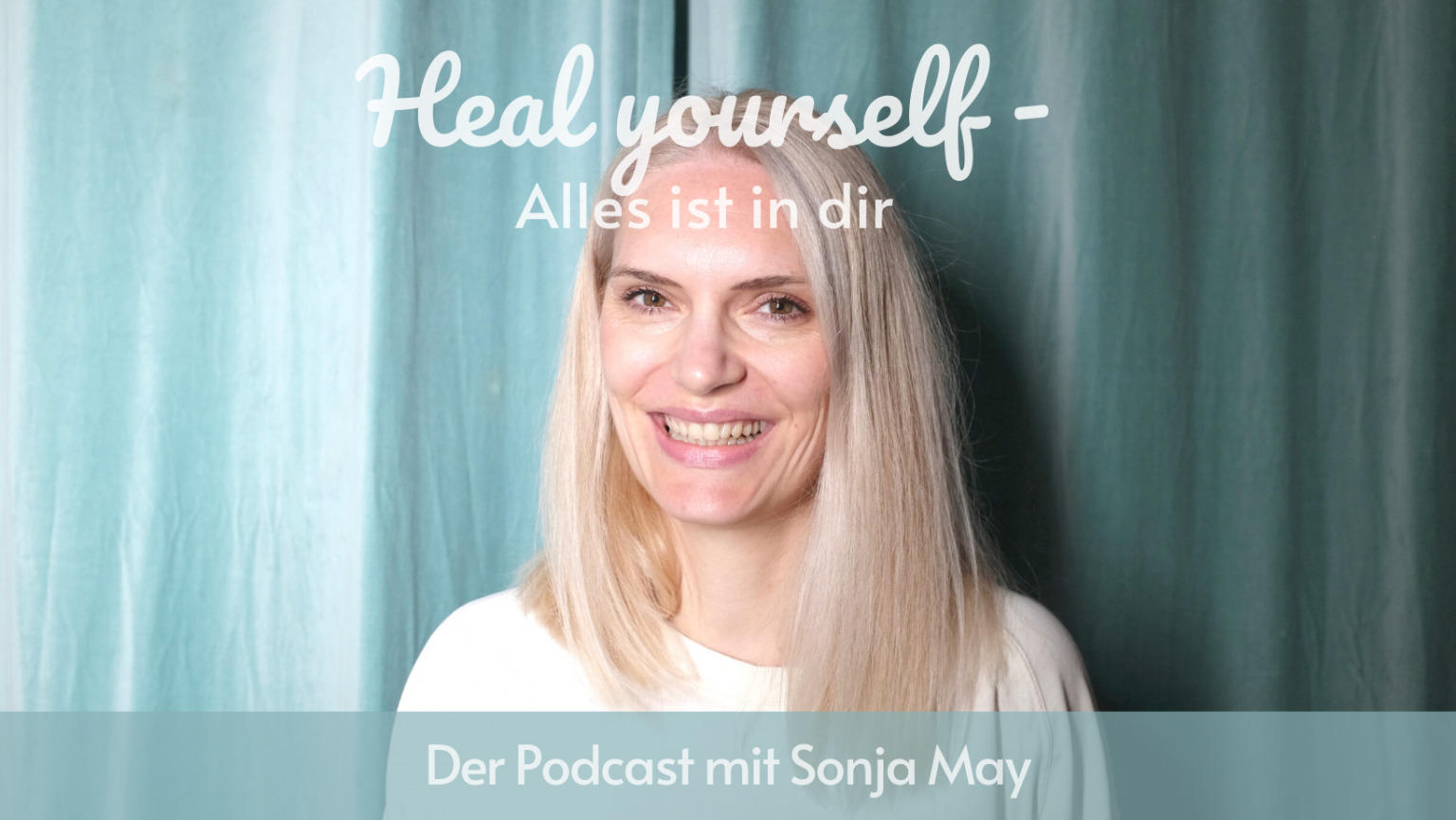 Podcast-Cover mit Sonja May